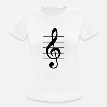 Treble Clef treble clef - Women's Sport T-Shirt