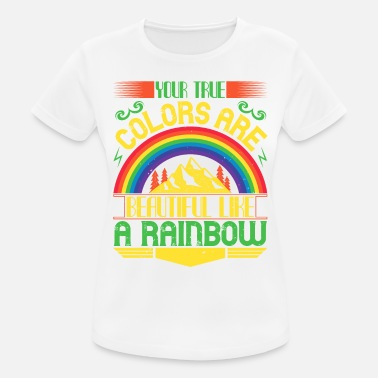 Courage Rainbow - Colour and Sunshine - 50 - Women's Sport T-Shirt