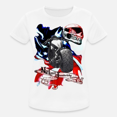 Super Bike Repair service without limits for Thunderbikes - Women's Sport T-Shirt