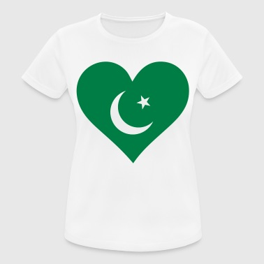 South East Asia A heart for Pakistan - Women's Breathable T-Shirt