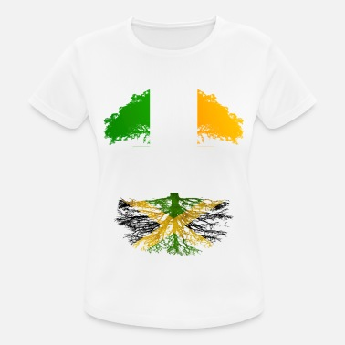 Jamaican Irish Grown With Jamaican Roots - Women's Sport T-Shirt