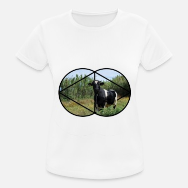 3d Effect Bull 3D Effect - Women's Breathable T-Shirt