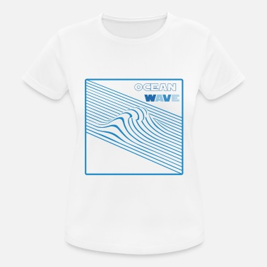 Ocean Wave Ocean wave - Women's Breathable T-Shirt