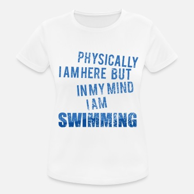 Backstroke Backstroke crawl swim swimmer gift - Women's Sport T-Shirt