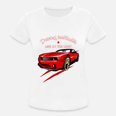 Driving School Driving instructor driving license driving school gift - Women's Breathable T-Shirt