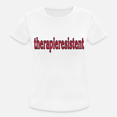 Behandling resistente over for behandling - Sports T-shirt dame