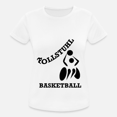 Basketball Rollstuhl Basketball - Frauen Sport T-Shirt