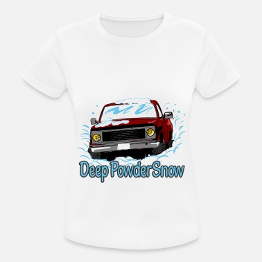 Powder Snow Deep Powder Snow - Women's Sport T-Shirt