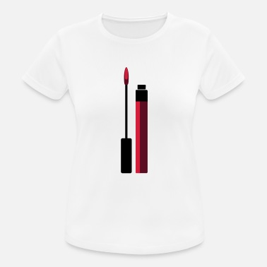 Lipgloss Lipgloss vector (Your Colour) - vrouwen T-shirt ademend