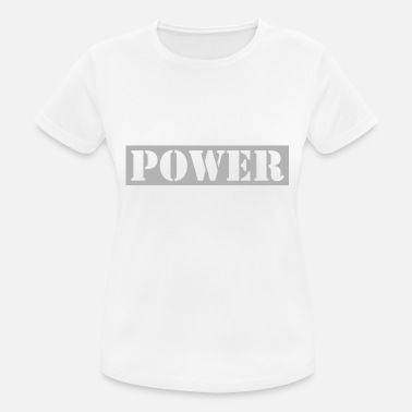 Power - Frauen Sport T-Shirt