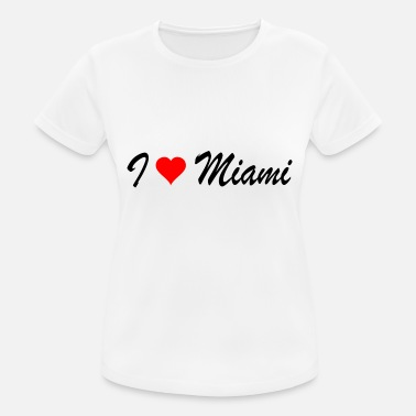 Miami Miami - Women's Breathable T-Shirt