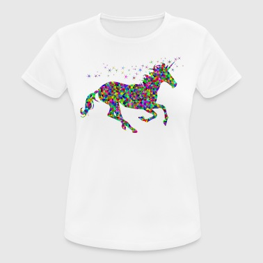 unicorn galloping - Women's Breathable T-Shirt