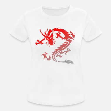 Tribal Dragon tribal dragon - Frauen Sport T-Shirt