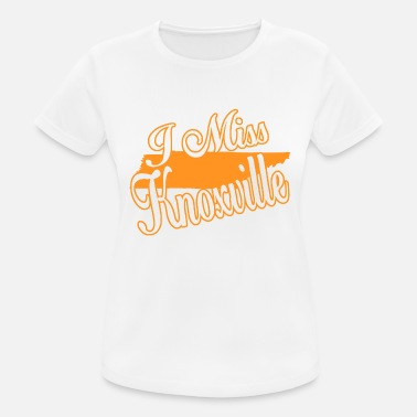 Knoxville Ich vermisse Knoxville - Frauen Sport T-Shirt