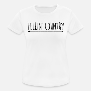 Country Music Country Music - Frauen Sport T-Shirt