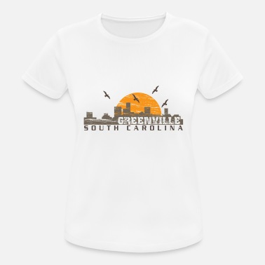Carolina Del Sur Greenville Carolina del Sur - Camiseta mujer transpirable