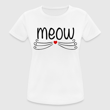 meow - Women's Breathable T-Shirt