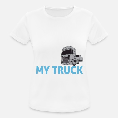 Funny Truck Driver Truck driver gifts - Women's Sport T-Shirt