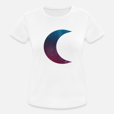 Divin Enfant Moon galaxy planet gift night - T-shirt respirant Femme
