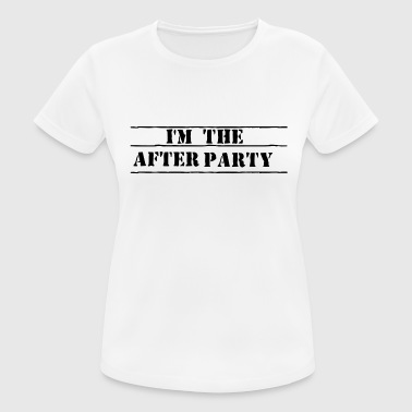 after party - vrouwen T-shirt ademend