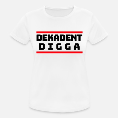 Decades Decadent Digga - Women's Sport T-Shirt