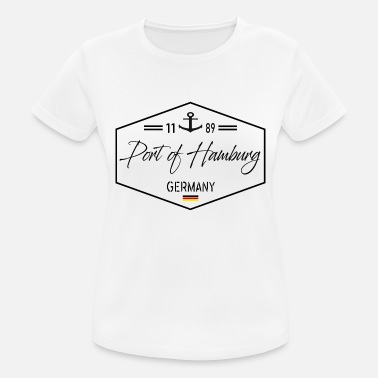 Hamburg Haven Haven van Hamburg - Haven van Hamburg - Vrouwen sport T-shirt
