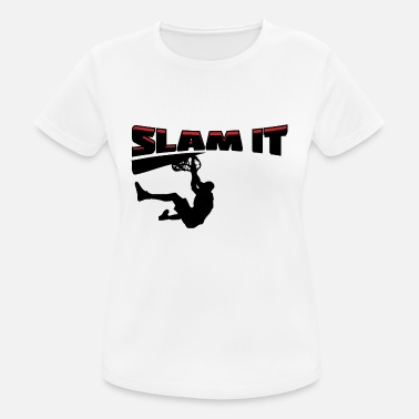 Slam Basket Slam It - Sport T-shirt dam