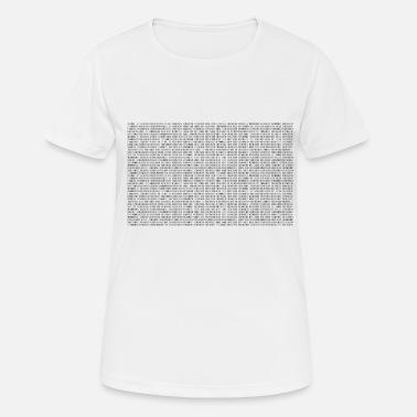 f90f0431 Binary Code Binary Code - Women's Sport T-Shirt