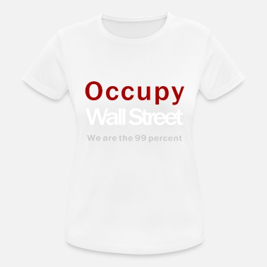 Occupy Wall Street Occupy Wall Street black - Frauen Sport T-Shirt