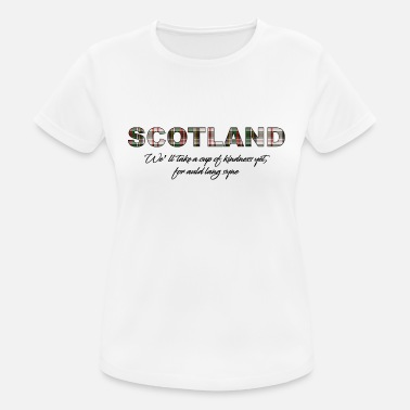 Scotland Independence Scotland 01 - Women's Breathable T-Shirt