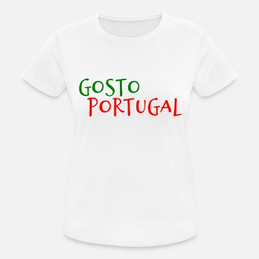 Portugal Portuguese I like Portugal - Portuguese - Women's Breathable T-Shirt