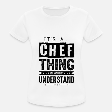 Apron chef chef chef kitchen - Women's Sport T-Shirt
