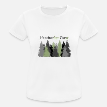 Forst Hambacher Forst - Women's Breathable T-Shirt