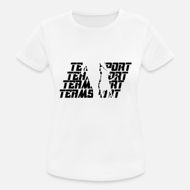 Teamsport Teamsport Black - Frauen Sport T-Shirt