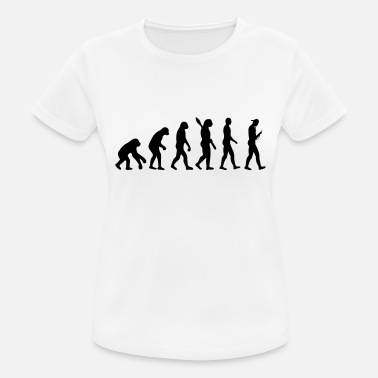 Jugend Evolution these days - Frauen Sport T-Shirt