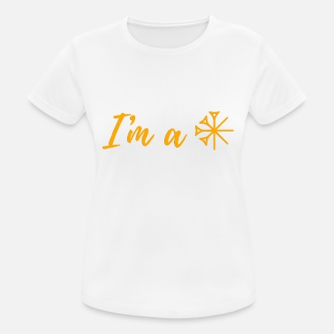 Archaeology I'm a star - Women's Breathable T-Shirt