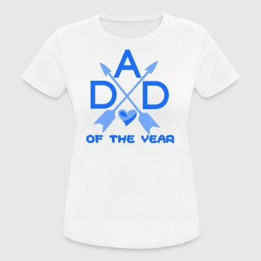 Daddy Of The Year Daddy of the year - Women's Breathable T-Shirt