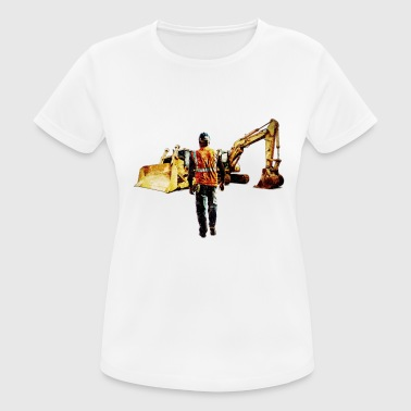 Diggers and Dozers - Women's Breathable T-Shirt