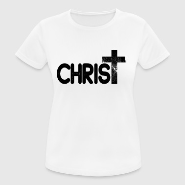 Christ Cross Christin Heilig Believing - Women's Breathable T-Shirt