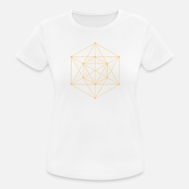 Sacred Sacred Geometry - Hexagon - Women's Sport T-Shirt
