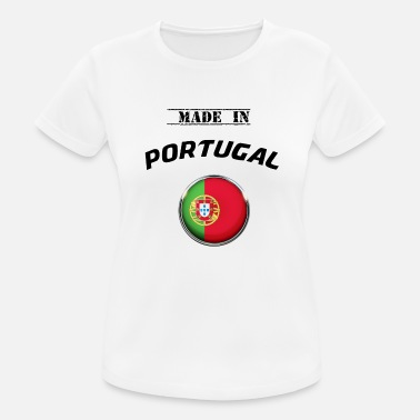 Südeuropa PORTUGAL PORTUGUESA MADE IN PORTUGAL T-SHIRT - Frauen Sport T-Shirt
