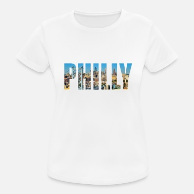 Philly Philadelphia USA - Women's Sport T-Shirt