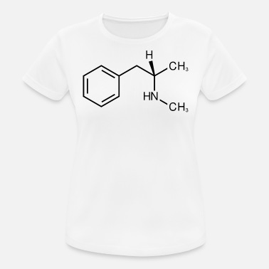 Crystal Meth Crystal meth molecule structure - Women's Breathable T-Shirt