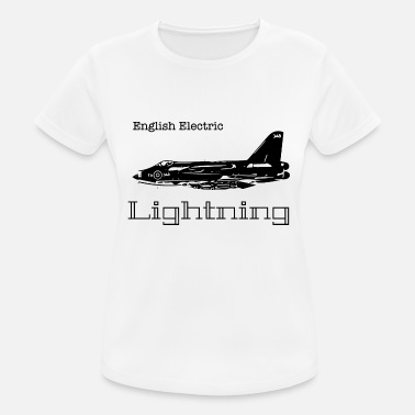 Military Aircraft lightning - Women's Breathable T-Shirt