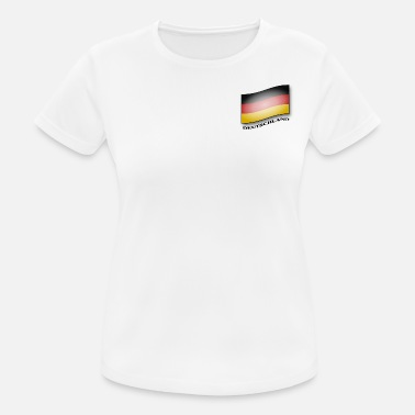 Flag Of Germany Germany flag - Germany flag - Women's Breathable T-Shirt