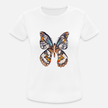 Butterfly Brown butterfly - Women's Sport T-Shirt