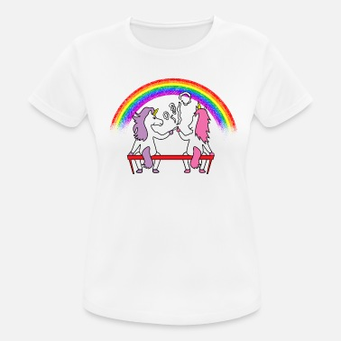 Weed Unicorn Joint Parkbank - Women's Breathable T-Shirt