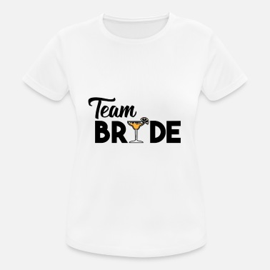 Cocktail Bride JGA - The Ultimate Team Bride Cocktail Shirt - Women's Breathable T-Shirt