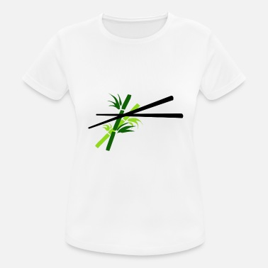 Chopsticks Chopsticks bamboo - chopsticks bamboo - Women's Breathable T-Shirt