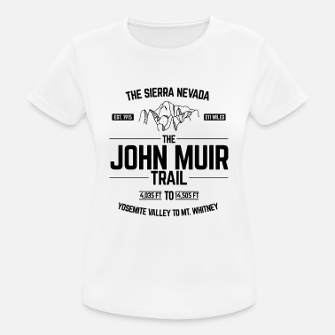 Mt Whitney The John Muir Trail JMT for ThruHikers - Women's Sport T-Shirt